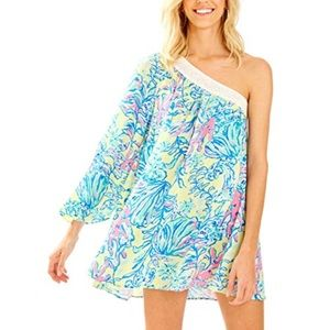 Lilly Pulitzer 'Shealyn' Cover Up in Lemon Drop